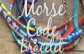 Le Code Morse Bracelet
