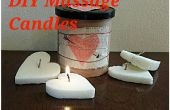 Bougies de Massage DIY