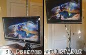 3D imprimé Bureau permanent réglable pour moins de 50 $