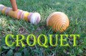 À jouer Croquet