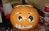 Costume d'Halloween de citrouille tête