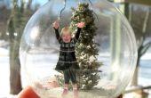 Faire un ornement de verre neige Diorama