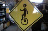 Monocycle traversant signe