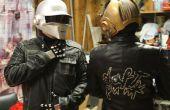 Casques de Daft Punk et costumes complets sans utiliser une vacu-forme