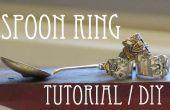 Une cuillère anneau - DIY tutoriel