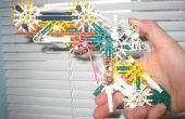 Knex pistolet avec gâchette vrai et mécanismes d'armement