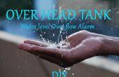 Alarme de niveau d'eau de réservoir de dessus de la tête