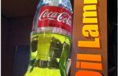 Vintage lampe huile de bouteille de Coca