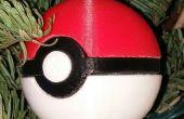 Ornement de Noël pokeball