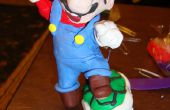 Super Mario Brothers Sculpture en argile polymère