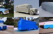 Comment à la 3D imprimer un modèle de voiture personnalisée (1966-Bus de Chevy)