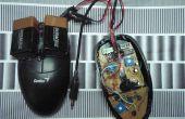 Pliage/hack une souris optique pour entendre des textures de surface.