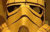Casque de Stormtrooper en carton