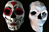 Bonus : Papercraft crâne masque