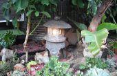 Faire une lanterne de jardin japonais hors Hypertufa