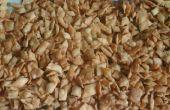 Tous les but farine délicieux snacks dans trois variations simples.