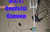 Canon confettis bricolage