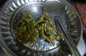 Colocasia Pakoda (beignets croustillants de Fried)