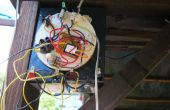 Chargeur solaire avec interrupteur nuit jour