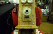 (2) antique Crank téléphone Hack
