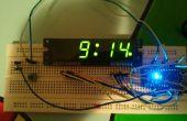 Arduino horloge avec affichage de l'heure Standard