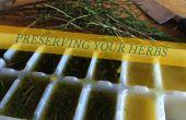 Préserver les herbes - huile d'olive