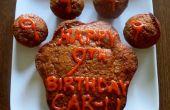 Gâteau à la carotte miel beurre d'arachide pour chiens