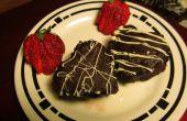 Coeurs de Brownie au chocolat noisette