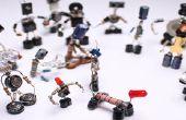 Sparebots selbst gemacht aus DIY Elektroschrott Projekt Anleitung