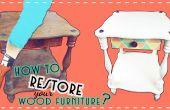Comment faire pour restaurer vos vieux meubles en bois ?