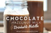 Comment faire de lait chocolat noisette | Nutella buvable