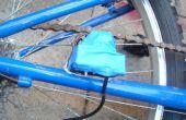 Vélo qui recharge votre téléphone cellulaire pendant que vous pédalez !