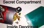 Compartiment de Stick déodorant secret