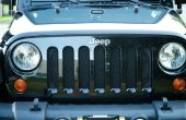 BRICOLAGE Mesh Grill gardes pour un Jeep Wrangler pour environ 10 $