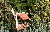 Récupéré le bardeau de cèdre Bird Feeder