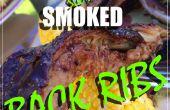 Applewood lentement fumé côtes dorsales
