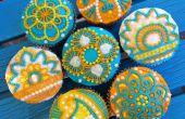 Cupcakes de henné facile
