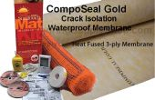 Composeal or et Radiant chaleur Flooring Systems Installation Guide