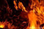 Façons créatives d'Exstinguish un feu