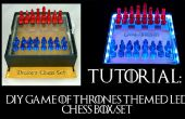 Game of Thrones sur le thème Chess LED boîte