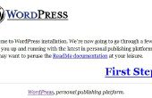 Comment faire pour utiliser WordPress par clé USB