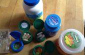 Mini-conteneurs de bouchons de bouteille & jar