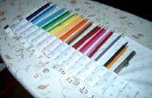 Porte-crayons en tissu