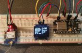 ESP8266 12e avec GPS & OLED display