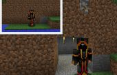 Super porte secrète dans Minecraft