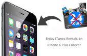 Profiter d'iTunes Locations sur iPhone 6 Plus Forever