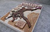 Comment faire un placage de bois 3D Comic couvrir