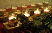Faire votre propre Yuletide candélabre