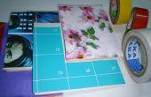 15 minutes D.I.Y. 4 différentes conduit bande mini notebook/mini devis revue d'art