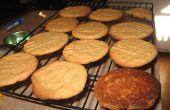 Super Simple sans Gluten libre au beurre d'arachides (pépites de chocolat) Cookies